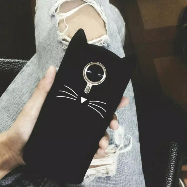 Baby with T8 mobile phone shell cat Mito M8 cartoon M6s silicone soft shell lanyard M4s female creative
