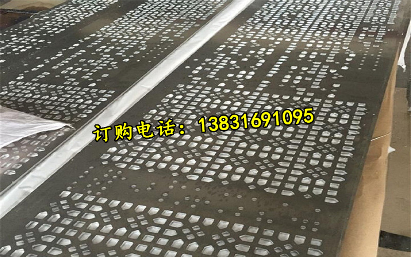 Direct selling wall, irregular punching aluminum board advertising billboard hole hole board outdoor hollow aluminum plate manufacturer