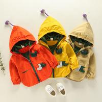 宝宝外套男春秋1一3岁潮男童婴儿秋装女0秋季小童夹克6-12个月