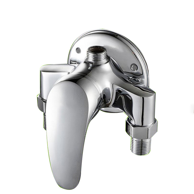 The solar water heater pipe mixing valve switch copper with the shower faucet shower set