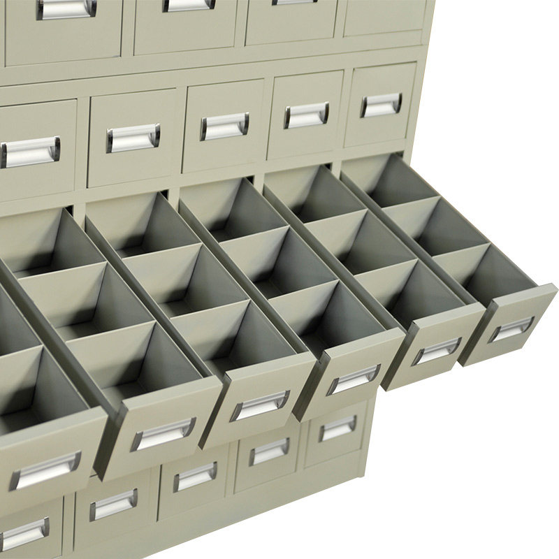 Stainless steel bucket swap units 60 Chinese medicine cabinet multi bucket cabinet cabinet cabinet Cabinet Chinese grass iron parts