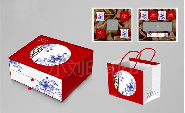 Custom-made boutique packing box for Beijing gift box printing