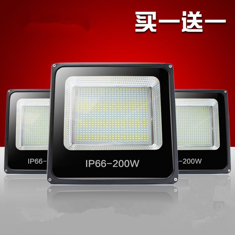 led - valo kirkas valo 200W300W vedenpitävä suuritehoiset explosion - valaistus on tunneli.