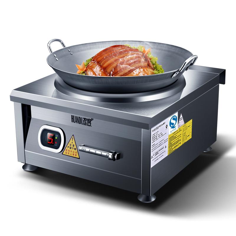 elektrické pece větší výkon užitkových elektromagnetické fry sporák 6000w konkávní elektromagnetické varné desky jídelny kuchyňské zařízení průmyslové vařiče