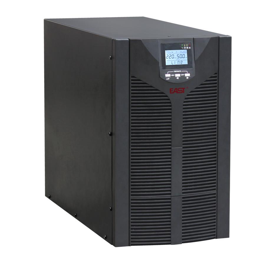 Este EA810 UPS EPS en la línea de tres de la frecuencia de un largo retraso de 7000W 10kVA carga