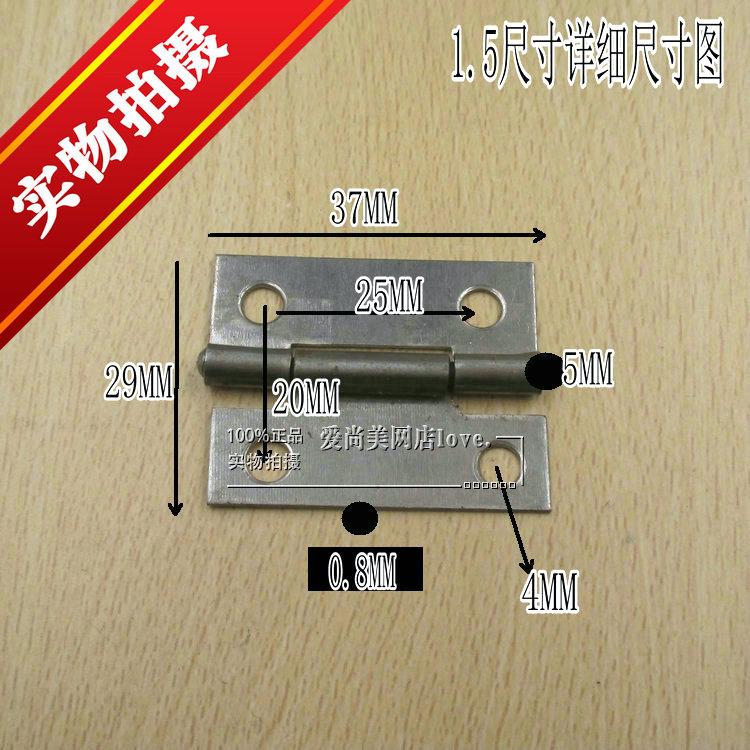 Productos de alta calidad de hierro plana de apertura bisagra bisagra bisagra bisagra engrosamiento bolsas pequeñas de 1 / 1,5 / 2 / 2,5 pulgadas de soldadura