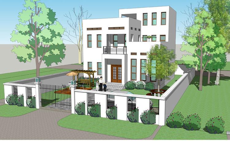 别墅设计图纸及效果图大全 24建筑别墅图纸超市