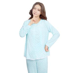 月子服夏秋冬产后哺乳睡衣套装全纯棉吸汗喂奶衣大码家居产妇睡衣