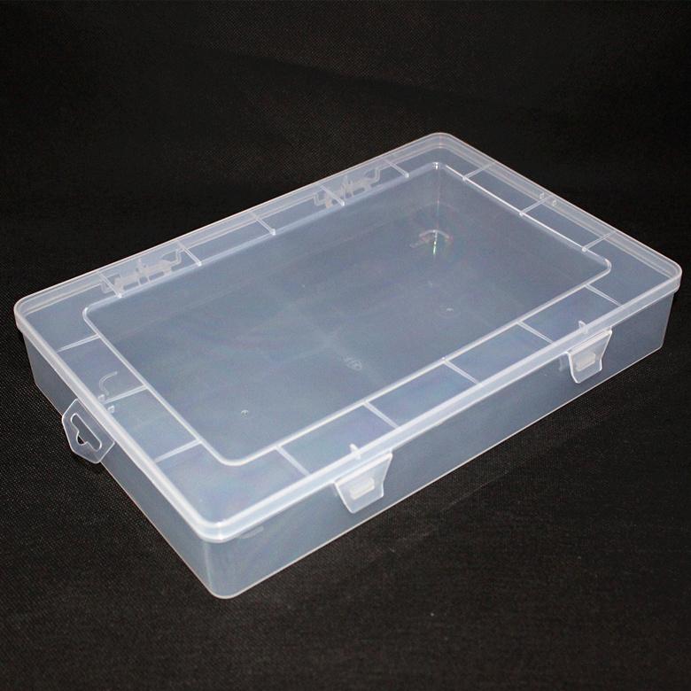 öppet pp plast i delar av rektangulära fält tomma fält på a4 - papper och plast arkiv i fält