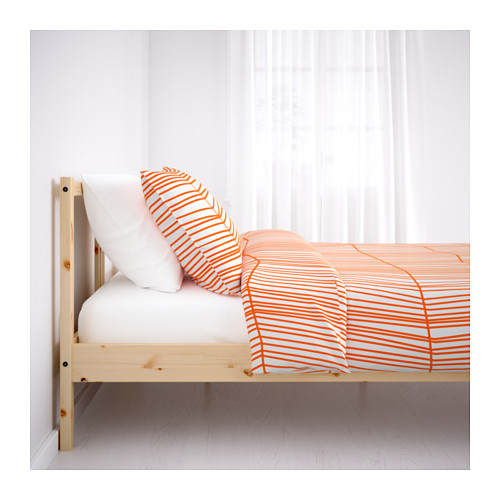 Nanjing Shanghai IKEA domestic purchasing in bed, 90150 single beds of solid pine