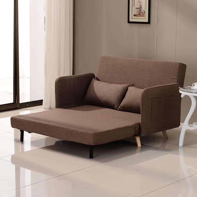 Το μικρό διαμέρισμα πτυσσόμενο καναπέ - κρεβάτι διπλό 1,2 m 1,5 m πολυλειτουργική πτυσσόμενο καναπέ μπορεί να