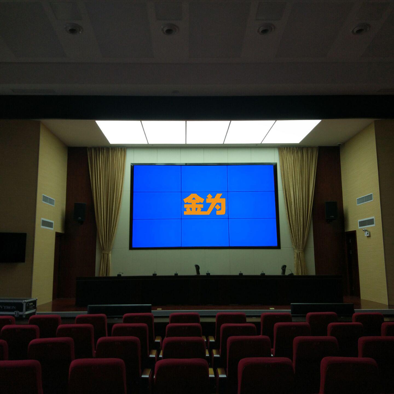 الذهب فسيفساء 49 بوصة شاشات الكريستال السائل شاشة 3.5mm حافة ضيقة جدا شاشة كبيرة مشتركة في حانة استرا رصد التلفزيون جدار