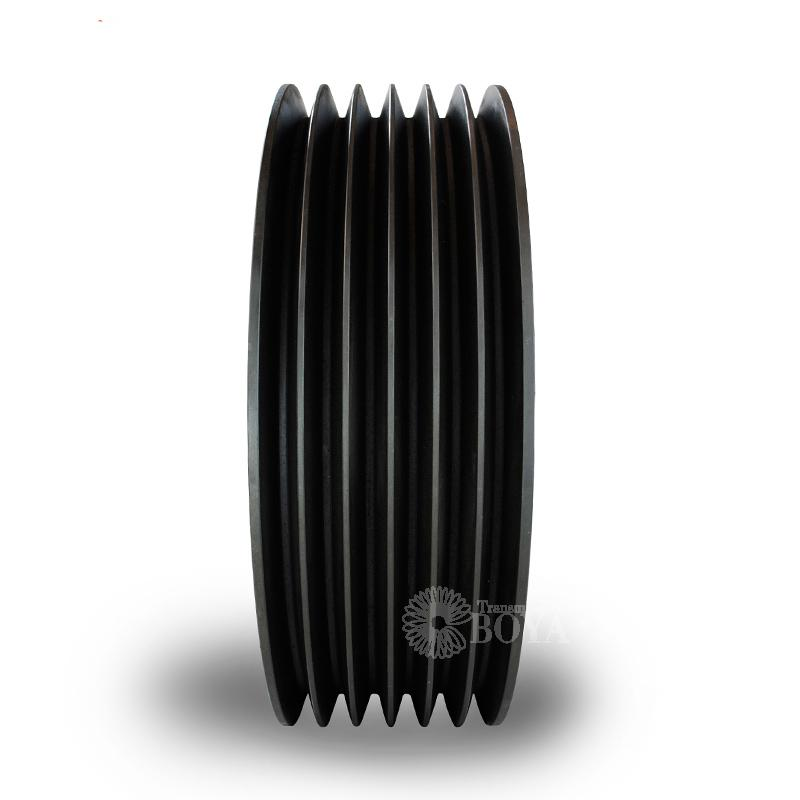 Bo Yang European standard V belt wheel 6 slot SPC1250-06 sleeve 5050 cast iron mill centrifuge