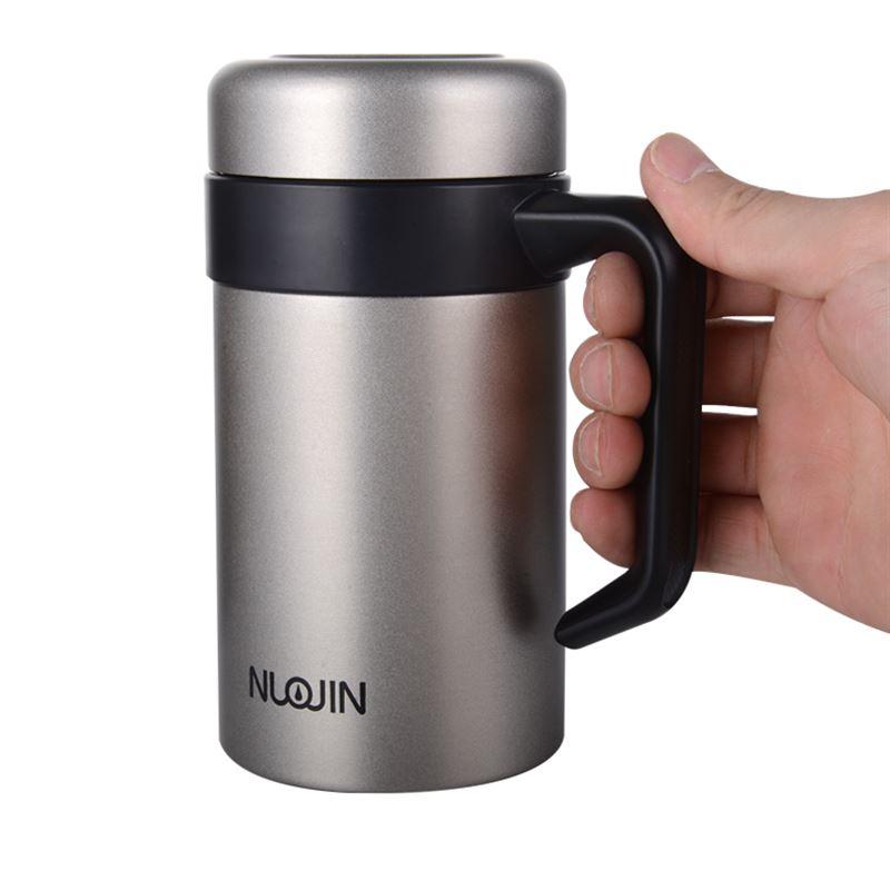 保温コップ真空304ステンレス男さんビジネスカップを持って水杯子フィルタカップ新品