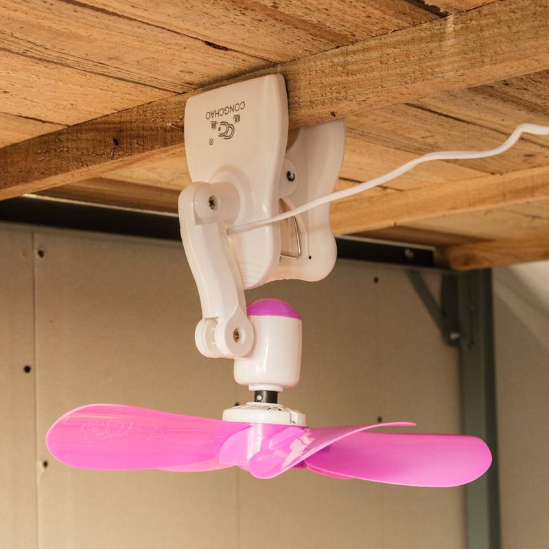 あおぐの小型電動扇風機デスクトップ家庭用ミニオフィス学生寮夾