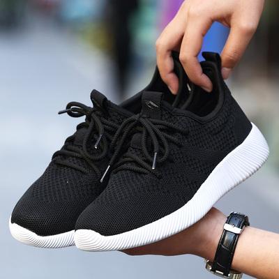 2018年春夏新款男鞋透气运动鞋男士网鞋男软底青少年潮鞋网面鞋子