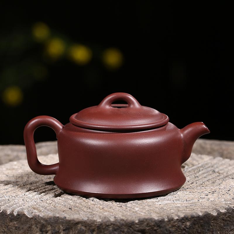 [Zhang Jie Zisha] Yixing pure hand-made teapot set home brewing tea pot ore purple Admiralty