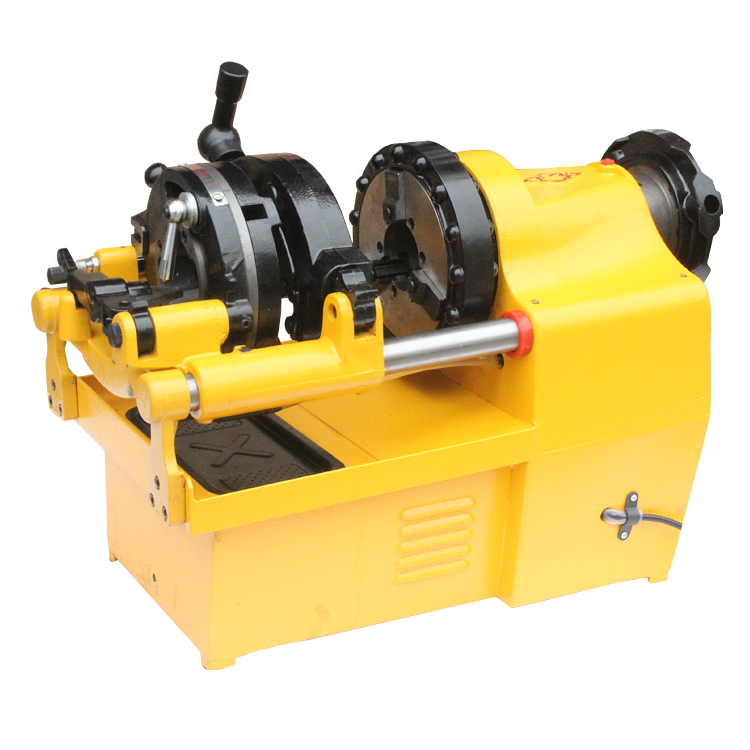 Electric multifunctional automatic light heavy galvanized pipe pipe threading machine 2/3/4 inch die