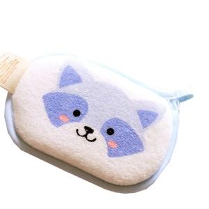 宝宝洗澡神器擦澡毛巾0-1-2岁婴儿沐浴擦纯棉搓泥搓背海绵