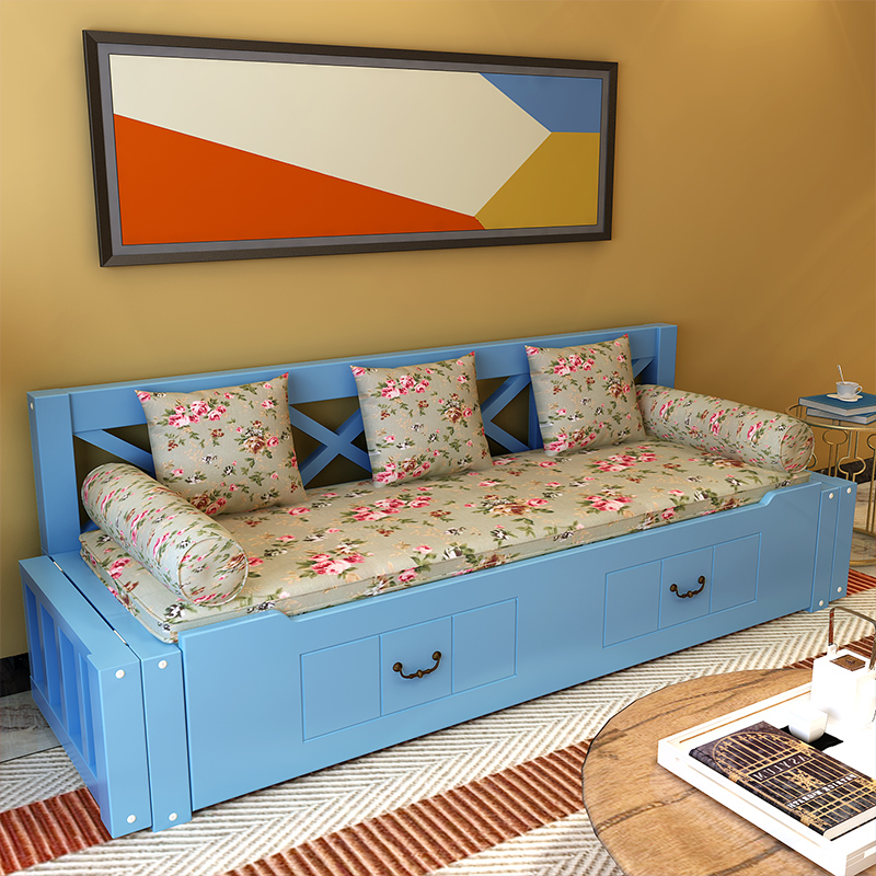Τον καναπέ - κρεβάτι πτυσσόμενο κρεβάτι άντλησης άνοιγµα καναπέ πίεσε και τράβα το σαλόνι αποθήκευση καναπέ 1,5 καναπέ κρεβάτι διπλής χρήσης