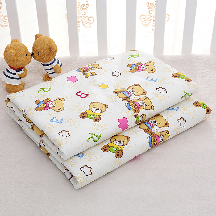 100*150 cotton waterproof insulation pad children can wash leak-proof pad extra large sheets of elderly nursing pad menstruation