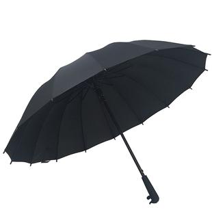 自动16股晴雨伞长柄户外大号男女双人防风广告伞定制logo印字