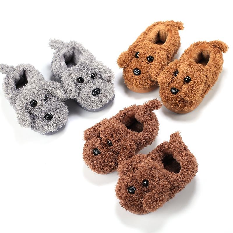 冬季儿童棉拖鞋小孩包跟居家鞋女童室内保暖宝宝棉鞋男童1-3-5岁