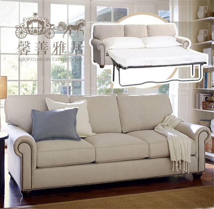 πτυσσόμενο ξύλινα 1,8 πολυλειτουργική 1,5 m Οικονομική ύφασμα μικρό διαμέρισμα στο σαλόνι καναπέ κρεβάτι τρία άτομα