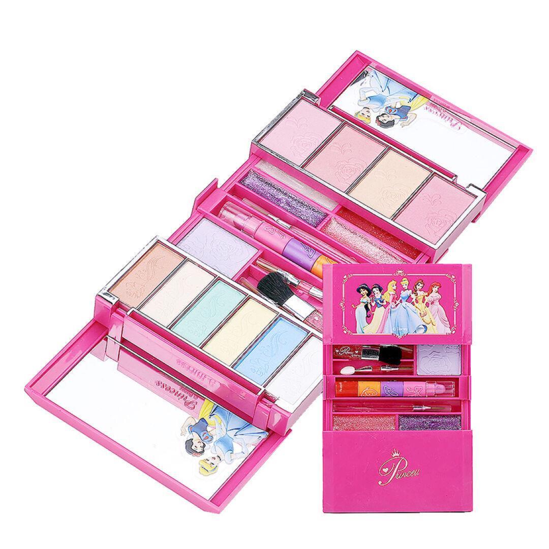 儿童化妆盒 安全无毒小孩的化妆品 女童过家家玩具 3-5岁女孩礼物