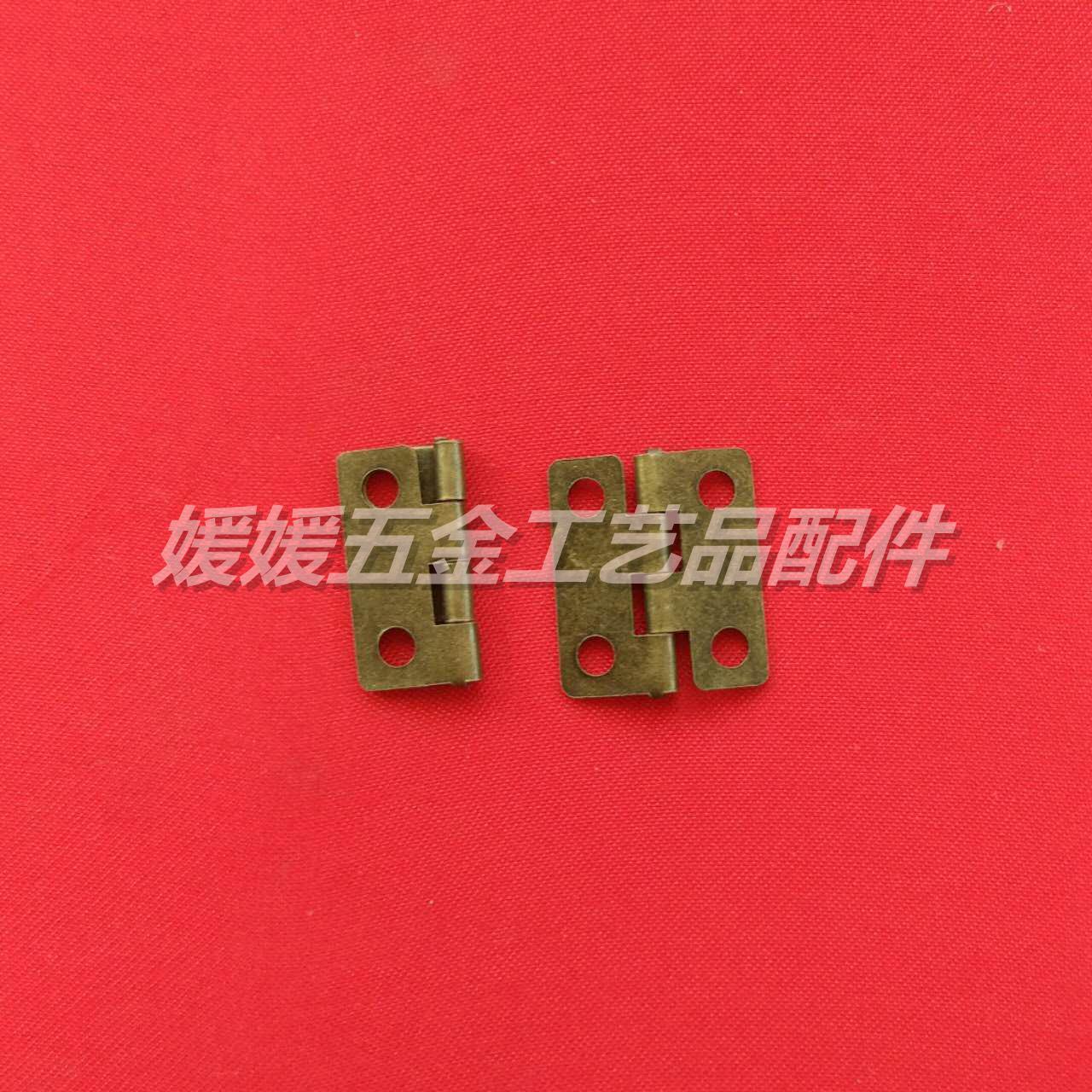 Ein scharnier - filet holzkiste Kleine hardware - zubehör - mini - wohnung öffnen Kleinen scharnier.
