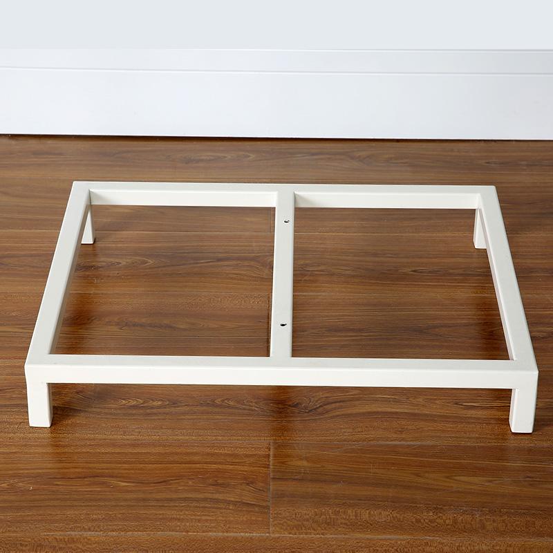Personalizar el Fondo de armario de metal cubo de pintura de estantes de acero de los estantes de acero inoxidable hierro sentarme con pintura blanca