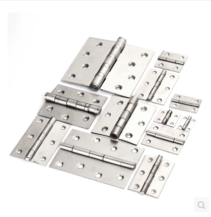 Non porous stainless steel hinge angle industrial chassis door hinge size mechanical hinge