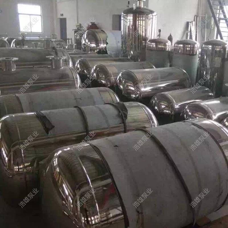 Der unterdruck - tank aus Edelstahl stabilisierende Tank unterdruck wasserversorgungsanlagen der stetige Fluss vernachlässigbar, hersteller