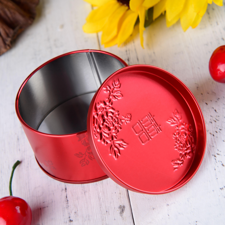 оптовая жести конфеты коробки китайский ветер круглый железный ящик творческих свадебные коробку конфет свадебные принадлежности коробки конфет
