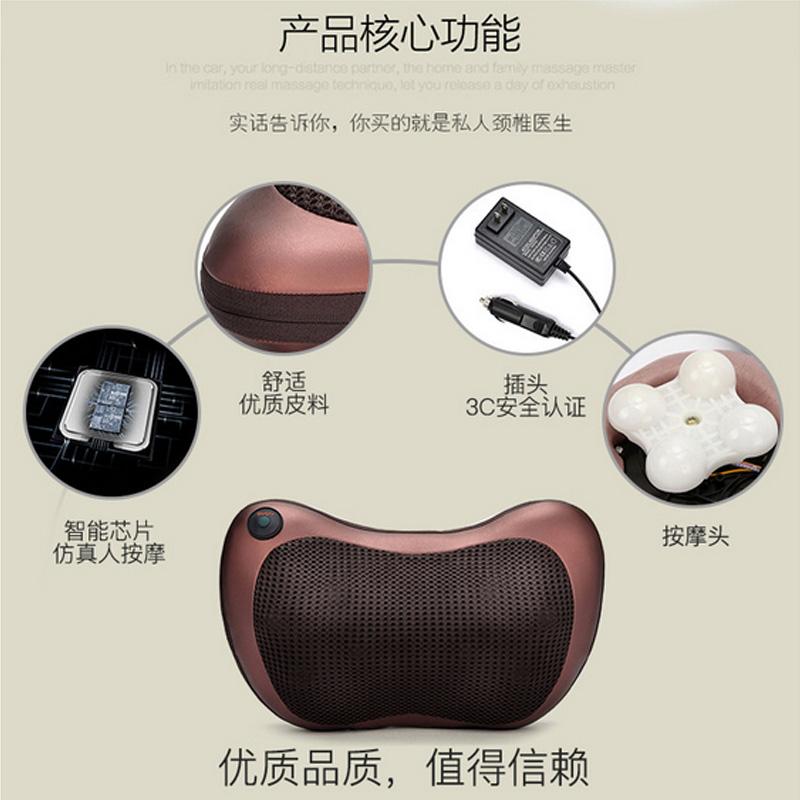 multifunktionella ryggkotan massager instrument för elektriska kuddar ryggar tillbaka - bog hals - massage.