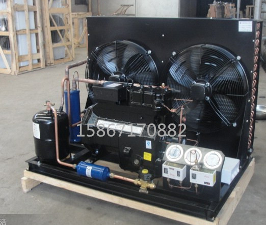 4 - 15 - kolo v chladírenském skladu koně kryogenní chladírenský sklad polohermetických vzduchem chlazených jednotky chladicí jednotky, chladírenský sklad, kompresorové zařízení