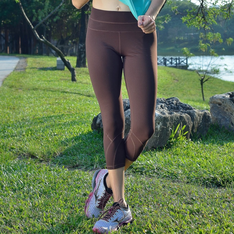 Canadian TH3 yoga, 7 point pants, women's spring and summer, new skinny, slim, fitness yoga, seven pants