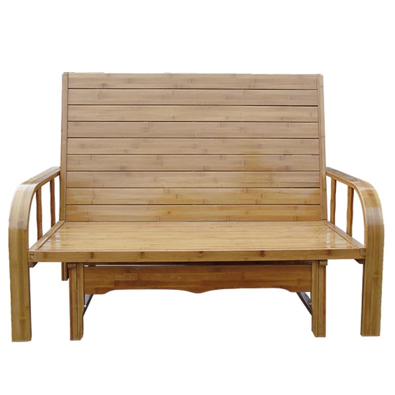 竹ソファベッド多機能折りたたみベッド涼み台竹単ペア1 . 2メートル1.8M昼休み竹板床