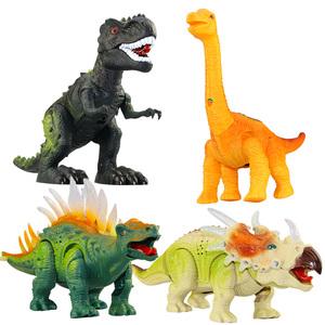 侏罗纪世界公园恐龙电动霸王龙超大号模型仿真动物儿童玩具男孩子