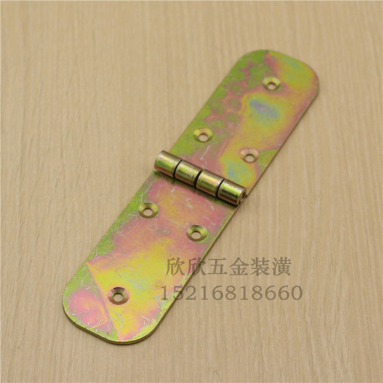 Iron plated color table hinges, folding table fittings, round table hinge, table hinge, turning plate hinge thickening