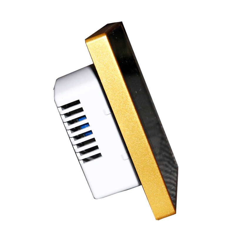 Heating thermostat LCD intelligent touch screen controller to switch the golden diversity water device package mail