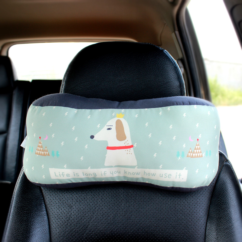 韓国の自動車を枕に可愛い護頚枕腰枕で漫画のクッションは車で抱き枕に詰めて車載用アクセサリー