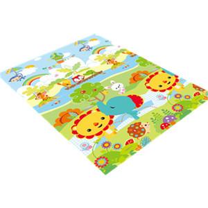 费雪爬行垫拼接XPE宝宝婴儿童加厚爬爬垫拼图环保无味地垫游戏垫