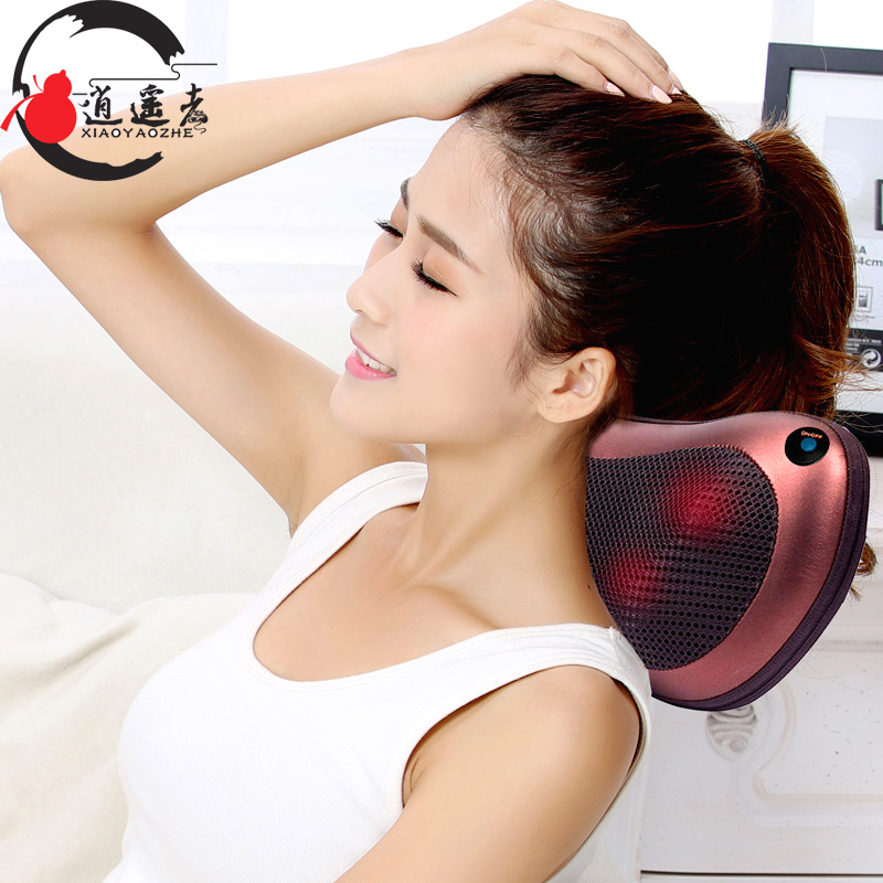 halshvirvel massage hals talje massage, elektriske bil massage pude pude, husstand, opvarmning massage instrument