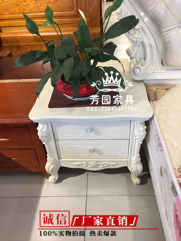 The new Chengdu factory sells direct selling European style French garden princess, soft bed, hydraulic storage, Korean wedding bed