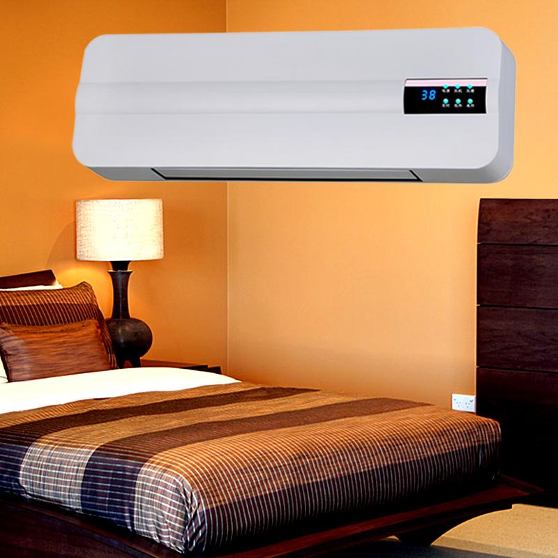 WC, elektrische heizungen heizung und kühlung MIT an der Wand hängen wärmer die energiesparende fernbedienung schlafzimmer an der Wand hängen Kleine klimaanlage