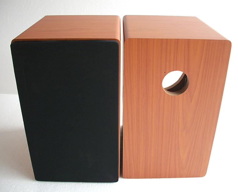 Division 65 cm de haut - parleur deux labyrinthe double boîte vide de 65 cm de haut - parleur automobile audition ensemble étagère de la boîte