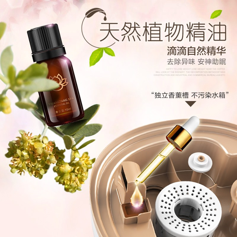 Lantern fragrance machine humidifier, home mute bedroom, clean air, pregnant small oxygen bar, infant mite removal, sterilization