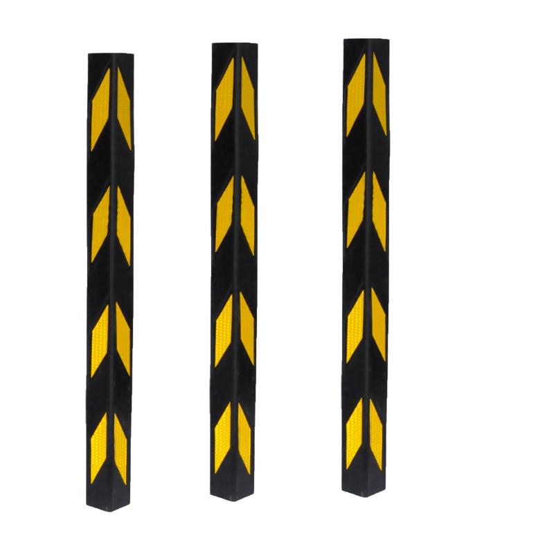 резиновый уголок в подвале гаража предотвращения столкновений светоотражающих полос колонка RUB углу столкновения с шаг цех