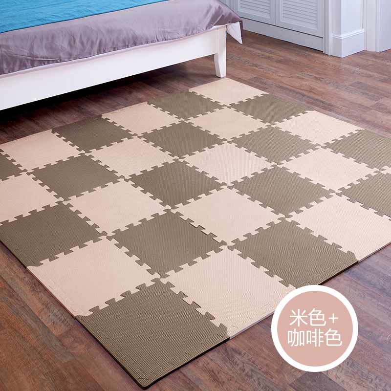 Children bedroom mosaic puzzle crawling pad floor mat mat with tatami baby climbing pad thick foam